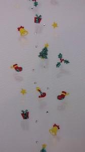 洗える 刺繍半衿 12月向き